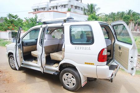 Tavera Car Rental Trichy